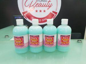 Beauty kiddies body repair soap